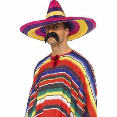 Sombrero hoeden gekleurd
